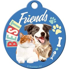 노스텔직아트[48029] Best Friends Cat & Dog