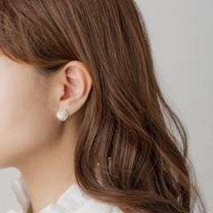 포인트 꽃다발 귀걸이