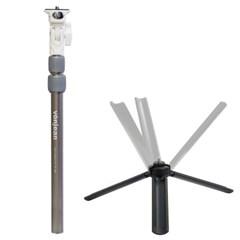MT-489G 프리미엄 스마트폰 셀카봉 삼각대 SET (카메라 액션캠 등)