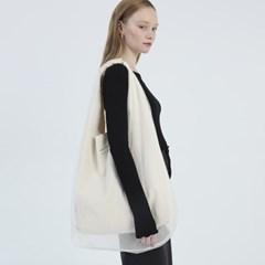 [4/14일 예약발송] Mesh Layered Shoulder Bag_ Ivory