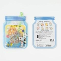 [CRUX sticker] YUM TIME SEAL FLAKE_쿠킹 스누피
