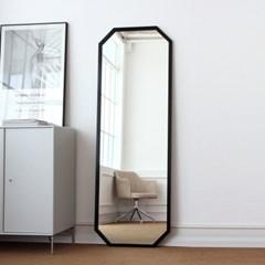어썸프레임 알루미늄 팔각 대형전신거울