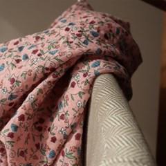 패턴롱스카프-핑크