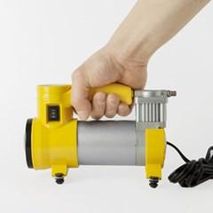 사이클론 LED 차량용 에어컴프레셔/에어펌프 공기주입