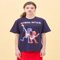 [SS20 SV X Sesame Street] Grover & Elmo T-Shirts(NV)