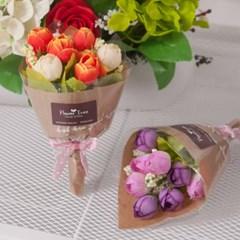 미니 장미 꽃다발o 12cmP 조화 꽃다발 꽃 장식 FMBBFT_(1748386)