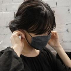 코지 린넨 마스크 : Cozy linen mask