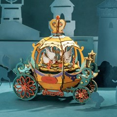 ROBOTIME 뮤직박스 호박마차 Pumpkin Carrige AM41_(1750598)