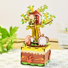 ROBOTIME 뮤직박스 나무위의집 TREE HOUSE AM408_(1750599)
