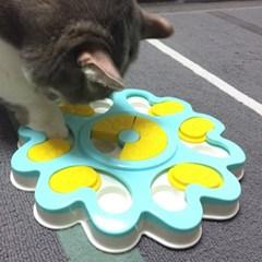 발라당 고양이 강아지 먹이퍼즐 노즈워크 간식 장난감