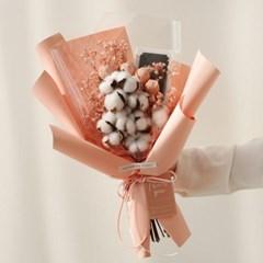 화이트데이 수제초콜릿  목화안개 꽃다발