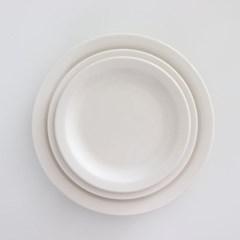 뉴욕 플레이트 디저트접시 브런치그릇