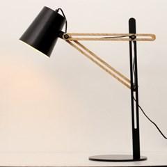 LED 라쳇 우드 스탠드 블랙_(1788777)