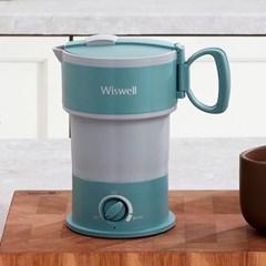 접이식 주전자 캠핑 휴대용 전기 미니 커피 포트