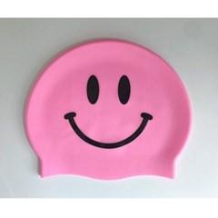 Smile Swimcap Pink
