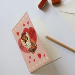 카발리니카드-valentine owl