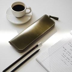 305PU 플랫 펜 파우치(M)