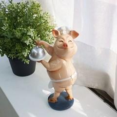 요리 핑크 돼지