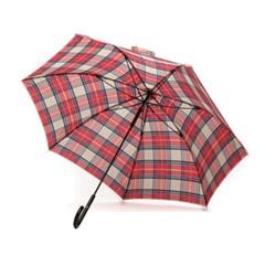PARACHASE 파라체이스 1113-1 체크패턴 경량화 라운드 그립 장우산