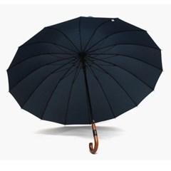 PARACHASE 파라체이스 7165 우드그립 가죽포인트 프리미엄 장우산