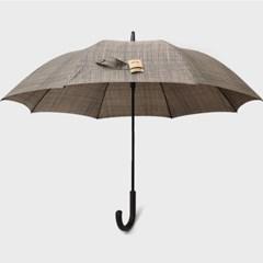 PARACHASE 파라체이스 1014 샤프 체크 패턴 곡자 그립 자동 장우산