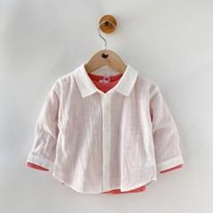 [마미버드] 베이직셔츠 (화이트)