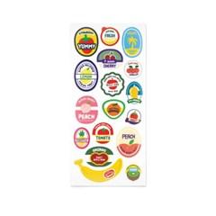 [스튜디오 퐁듀] Fruit Label 과일라벨 씰스티커