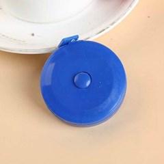기본형 블루 원형 줄자 1개