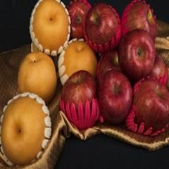 [이슬마루]사과 배 혼합 1호5.6kg (사과6개,배6개)