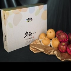[이슬마루]사과 배 혼합 2호 선물세트  4.5kg (사과-8,배-4)