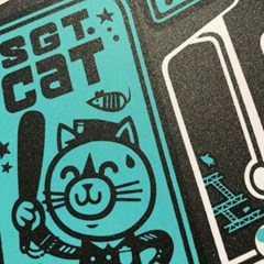 [핸드메이드 포스터] Arcade Cat