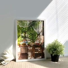 [A3 포스터, 캔버스액자] 잘게 부서지는 햇빛