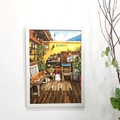 [A3 포스터, 캔버스액자] 봄날