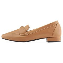SPUR[스퍼] 로퍼 PS9019 twist strap loafer 베이지