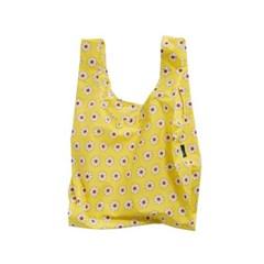 [바쿠백] 휴대용 장바구니 접이식 시장가방 Yellow Dais_(2483655)