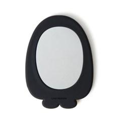라인프렌즈 실리콘 손거울 - 펭고브라운