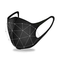 빨아쓰는 3D 입체 연예인 마스크 우레탄 마스크 10p set