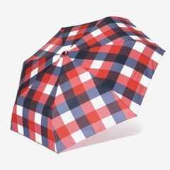 PARACHASE 파라체이스 3237 경량 체크패턴 3단 자동 우산
