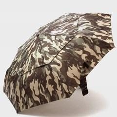 PARACHASE 파라체이스 3204 카모플라쥬 패턴 자동 3단 우산 카키