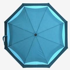 PARACHASE 파라체이스 7341 배색 패턴 V1 자동 3단 우산