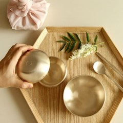 놋담 방짜유기 유기그릇 아기 옥식기 1인
