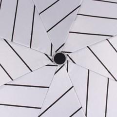 바니브라운 심플 스트라이프 암막 우양산