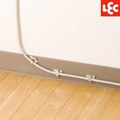 [LEC] 케이블 전선정리 벽걸이 후크(L) 6P [H-675]