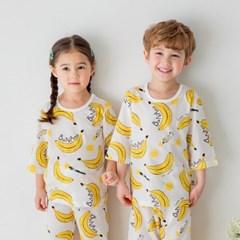 [키키스토리] 바나나드로잉 _7부 자가드 실내복
