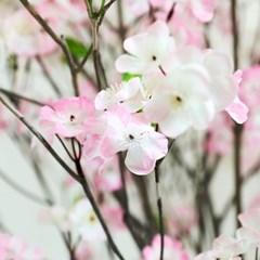 인조나무 조화나무 인테리어조화 내츄럴 믹스벚꽃나무 190 사방형
