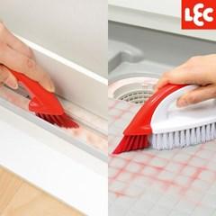 [LEC] 3WAY 붉은 곰팡이제거 욕실 바닥 청소솔 [S00045]