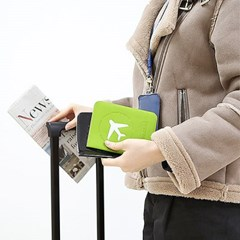 커플 신혼여행 비행기티켓 여권보호 커버지갑 Vacance_(1163929)