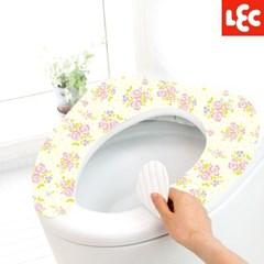 [LEC] 꽃무늬 변기시트커버(장미) [BB-394]
