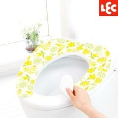 [LEC] 꽃무늬 변기시트커버(옐로우열매) [BB-485]