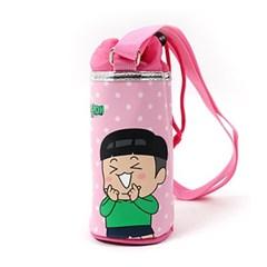 흔한남매 따릉 원통 물병가방